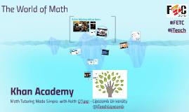 Khan Academy: Math Tutoring Made Simple