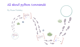 All about Python commands