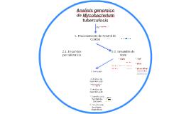 Analisis genomico de Mycobacterium tuberculosis