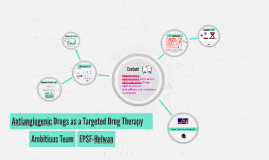 antiangiogenic drugs as a targeted drug therapy