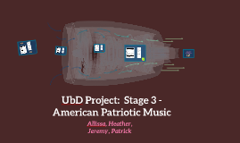 UbD Project