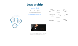 Leadership by Jeremy Kent