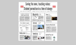 UDC: Saving the news