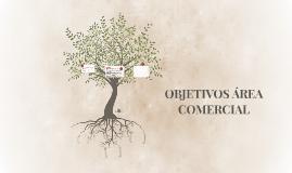 OBJETIVOS ÁREA COMERCIAL