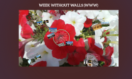 WEEK WITHOUT WALLS (WWW)