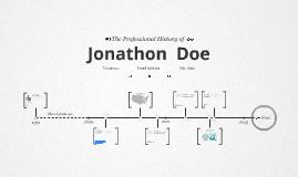Timeline Prezumé by Johanne Stenstrup