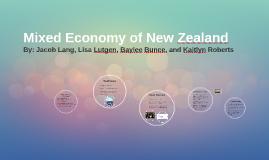 Mixed Economy of New Zealand