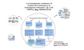"""Copy of Copy of """"La investigación cualitativa: El Análisis de Contenido en l"""