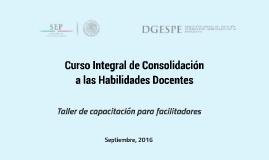Copia de Curso Integral de Consolidación a las Habilidades Docentes