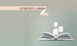 ENTREVISTA -LABORAL