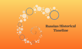 Russian Historical Timeline