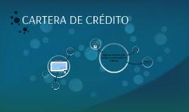 Copy of CARTERA DE CREDITO