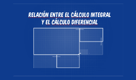 Relación entre el cálculo integral y el cálculo diferencial