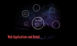 Web Applications and Detail