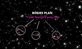 BOGIES PLAN