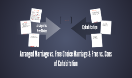 arranged marriages vs free choice marriages 10 advantages and disadvantages of arranged marriage right because with arranged marriage, there is only one choice 6 advantages and disadvantages of free t.