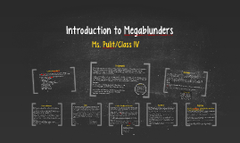 Introduction to Megablunders
