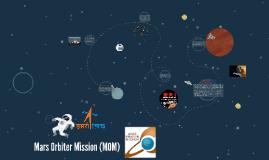 Copy of Mars Orbiter Mission (MOM)