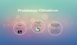 Problemas Climaticos
