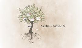 Verbs - Grade 8