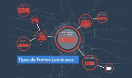 Copy of Tipos de Fontes Luminosas