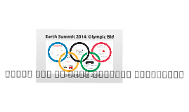 Copy of Earth Summit