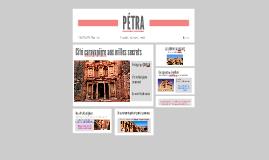 PÉTRA, LA CITÉ CARAVANIÈRE AUX MILLES SECRETS