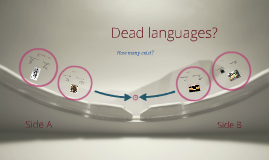 Word Study Dead Languages
