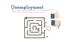 Evaluating the Government's Policies to Reduce Unemployment