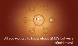 All you wanted to know about GMO's but were afraid to ask