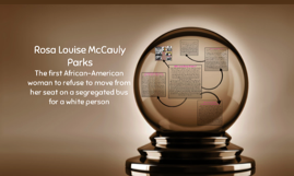 Rosa Louise McCauly Parks
