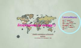 Copy of Modele ustrojowe wybranych państw