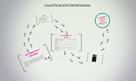 CLASIFICACIÓN EMPRESARIAL