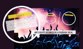 Copy of ANTECEDENTES HISTORICOS DE LA PSICOLOGÍA SOCIAL