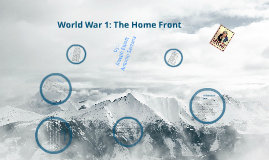 World War 1: The Homefront