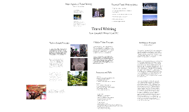 Copy of Travel Writing