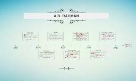 The arc of A.R Rahman's career