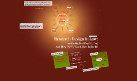 Research Design in Law: How Do We Do What We Do?
