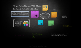Copy of Copy of The Fundamental Five