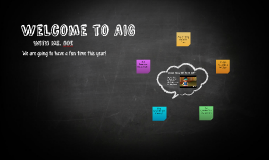 Welcome to AIG