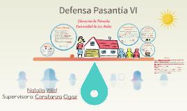 Defensa Pasantía VI