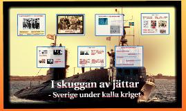 Sverige och kalla kriget