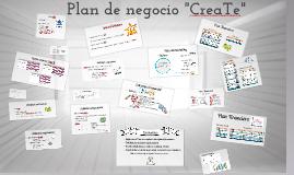 Plan de negocio CreaTe