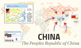 CHINA: The People's Republic of China