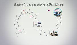 Buitenlandse schoolreis Den Haag