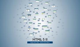 HTML 5 II