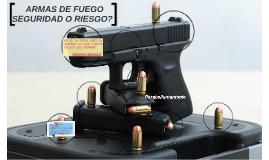 ARMAS DE FUEGO, SEGURIDAD O RIESGO?