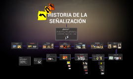 HISTORIA DE LA SEÑALIZACIÓN