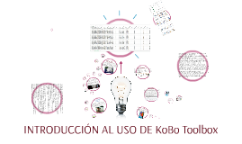 Copy of INTRODUCCIÓN AL USO DE KOBO