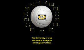 Copy of The University of Iowa Intramural Volleyball 2013 Captain's Video